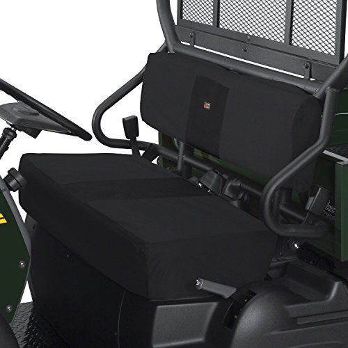 (Classic Accessories QuadGear Black UTV Bench Seat Cover)