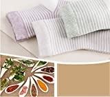Lalalucky Baby Safe Socks Basic Natural Plant