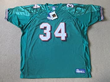purchase cheap e11e2 35dcf Miami Dolphins Authentic Sewn NFL Jersey - Williams #34 ...