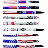 LONDON NEW-YORK - 1 Stylo bille rechargeable - 2 graphismes au choix