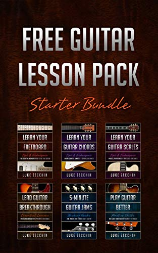#freebooks – Free Guitar Lesson Pack: Starter Bundle (Book + Online Bonus) by Luke Zecchin