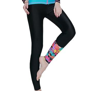 f48b9e565 SBART Surfing Leggings Women Diving Tights Swimming Pants Sun Protection -  Black