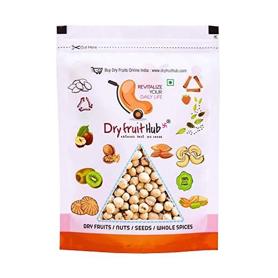 Dry Fruit Hub Hazel Nuts, 400gms Premium Jumbo