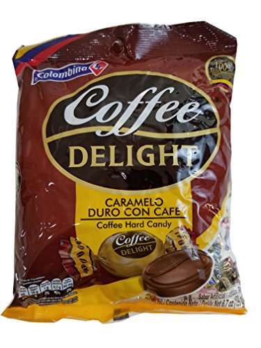 Colombina Coffee Delight Hard Candy / Caramelo De Cafe 50 - Import It All