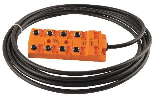ifm ebc021 sensor wiring block end 1 number of pins 8 end 1 rh amazon com 110 Block Diagram Telephone Connection Block