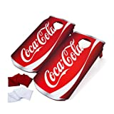Officially Licensed Coca Cola Design Cornhole Bean Bag Toss Game - Includes 8 Bean Bags!