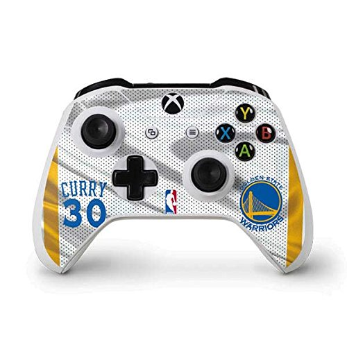 Golden State Warriors Xbox One S Controller Skin - Stephen Curry Golden State Warriors Jersey | NBA & Skinit Skin