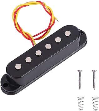 SUPVOX Lenkergriffe im Stil der oberen Kunststoffhut zum Ersetzen von 3PCS E-Gitarre