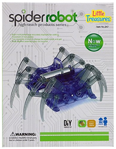 Little Treasure Spider Robot Building Kit Engages Children of All Ages! All Robots