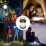 Solar Camping Light Collapsible Lantern LED