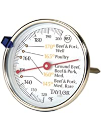 Investment 1 - Meat Dial Thermometer, Large, easy to read 2 3/4