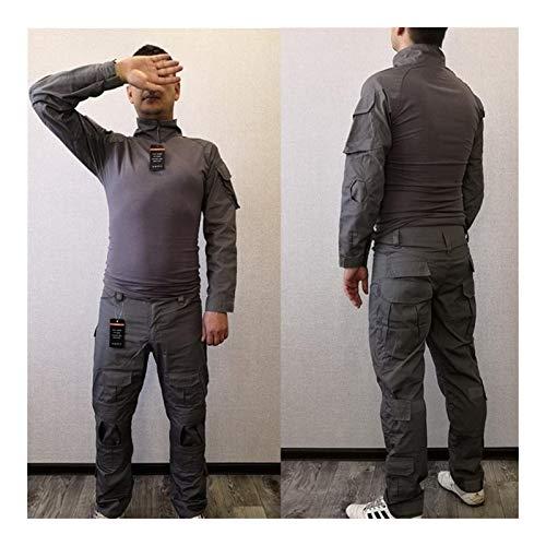 HXSZWJJ Uniformes Tactiques Hommes Ripstop Tenue de Camouflage Militaire Ensembles Costumes de sécurité de Combat… 3