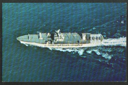 U S S Mount Whitney Command Ship LCC-20 postcard