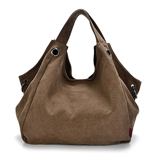 JOYSKY HB440061C2 Spring Canvas Tide Cool Demeanor Women's Handbag,Dumplings Type Crescent - Online Outlet Coach Canada