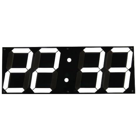 Amazoncom Mochiglory Jumbo Digital LED Wall Clock Multi