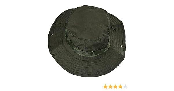 58afae74469 Amazon.com  Outdoor Camping climbing Cap Wide Cap Brim Military (A)  Sports    Outdoors
