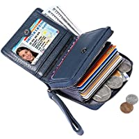 Itslife Women's Leather Multi Functional Compact Wallet Card Holder