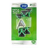 Berkley Jensen Men's Triple-Blade Disposable Razor, 21 ct. (pack of 6)