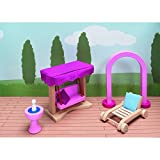Goki Castle Furniture for Flexible Puppets Garden Furniture by GoKi