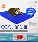 K&H Manufacturing Cool Bed III Medium Blue 22-Inch by 32-Inch