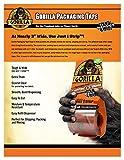 "Gorilla 6034002 Heavy Duty Packaging with Dispenser, 1.88"" x 25 yd, Clear"