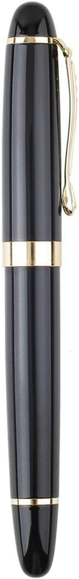Liobaba Upscale X450 Black Color Fountain Deep Twist Carven Medium Nib Gold Trim Fountain Pen Study Office Pens
