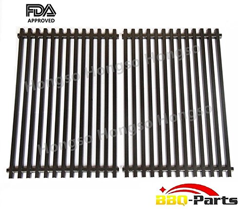 Hongso PCG525 Heavy Duty Porcelain Enameled Replacement Cooking Grill Grid Grates Fit Weber 7525 for Weber Spirit Genesis Grills, Lowes Model Grills