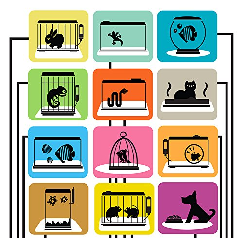 Tex Anti-Microbial Pet Mat, Protective Mat for Hard Floors, 45'' x 60'' (FRDOGAB12150EV) by Floortex (Image #3)