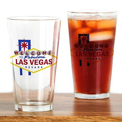 - CafePress Welcome To Fabulous Las Vegas Pint Glass, 16 oz. Drinking Glass