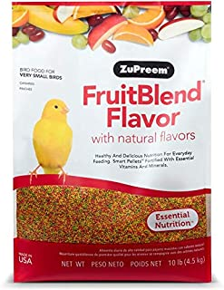 product image for ZuPreem FruitBlend Flavor Pellets Bird Food for Very Small Birds - Powerful Pellets Made in USA, Naturally Flavored for Canaries, Finches