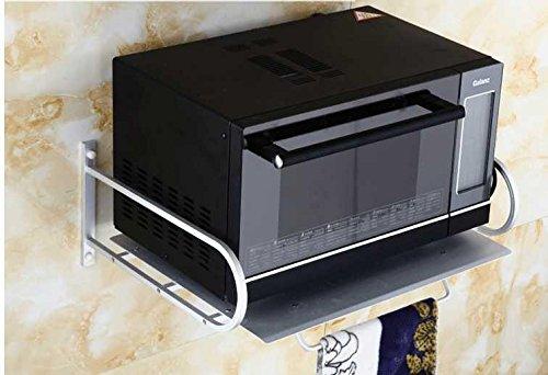 QUEENS Unión Retro aluminio espacio/horno microondas/armarios rack/especias en la cocina particiones racks/estantes