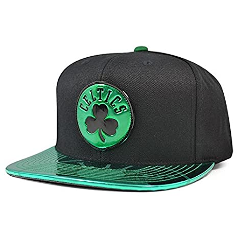 Amazon.com   Mitchell   Ness Boston Celtics Team Standard Snapback ... a1c5c83c4