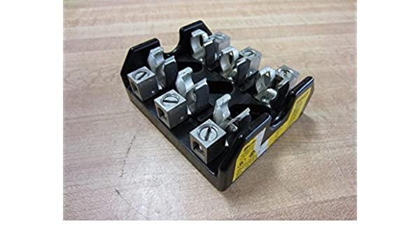 Bussmann T60030-3CR T600 Series Fuse Block 1/2 - 30 Amp 600 Volt:  Amazon.com: Industrial & ScientificAmazon.com