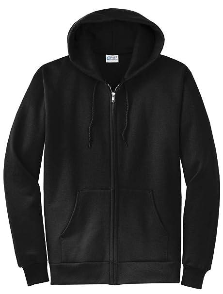 cc54268932a1 Solid Black Vol Hoodie Sweater Zip Up