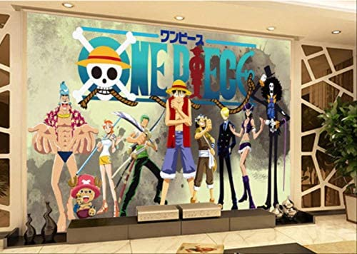 One Piece Wall Murals 3d Japanese Anime Wallpaper Custom Photo Wallpaper Boys Bedroom Tv Backdrop 3d Photo Wall Paper Room Decor Width 250cm Height175cm A Buy Online At Best Price In