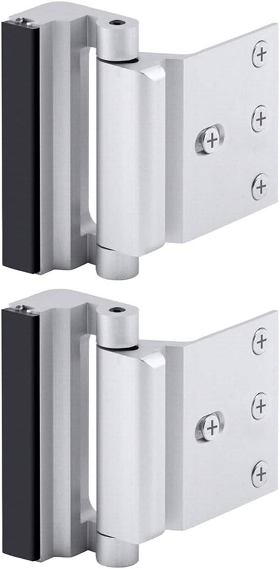 Home Security Door Reinforcement Lock Childproof Door Lock Defender New