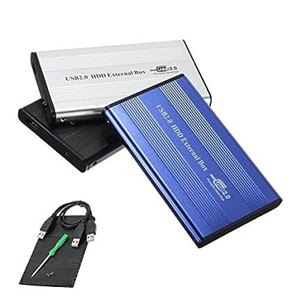 Sawake Meco 2.5 inch IDE aluminio USB 2.0 Caja de disco duro ...