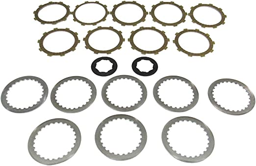 Outlaw Racing ORCS082A Kevlar Complete Clutch Repair Rebuild Kit Includes Springs Steel /& Fiber Plates Comptaible with Suzuki DL650 V-STROM 2004-2015SFV650 GLADIUS 2009-2010