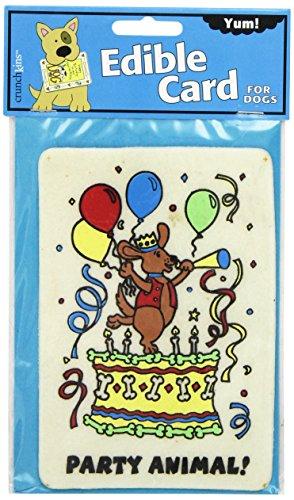Crunchkins Edible Crunch Card, Party Animal (Edible Card)