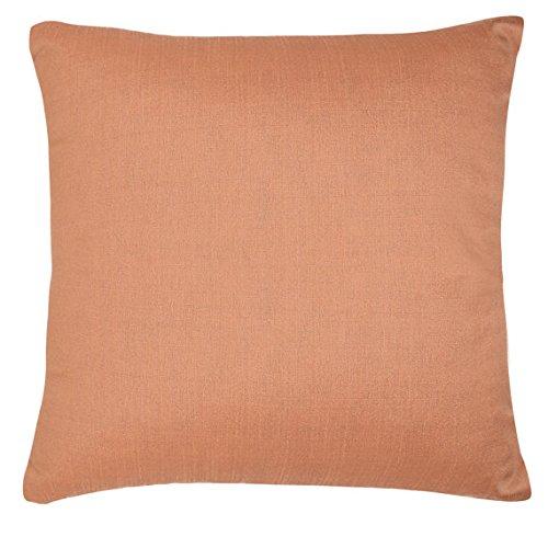 Set of 2 Rose Gold Art Silk Pillow Covers, Plain Silk Cushion (Art Roses)