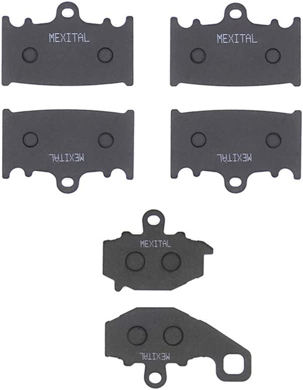 ZX-9R Ninja MEXITAL Bremsbel/äge Hinten f/ür ZR400 Zephyr G 93-07 ZX6R 94-97 ZX400N 93-99 ZX600E Ninja ZX6 ZZR600 ZX600F ZZ-R 400 94-95 97-01