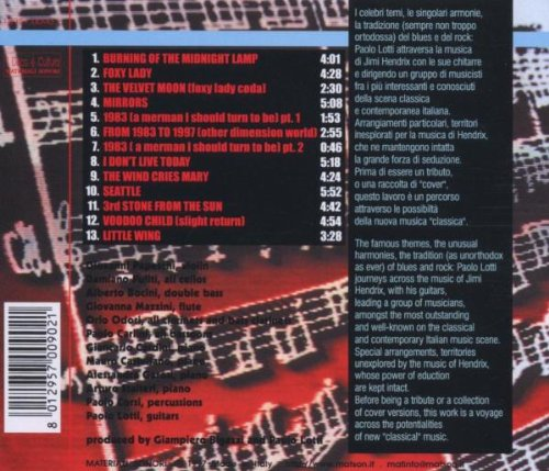 Hendrix by Materiali Sonori
