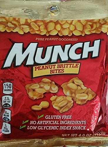 Munch Peanut Brittle Bites