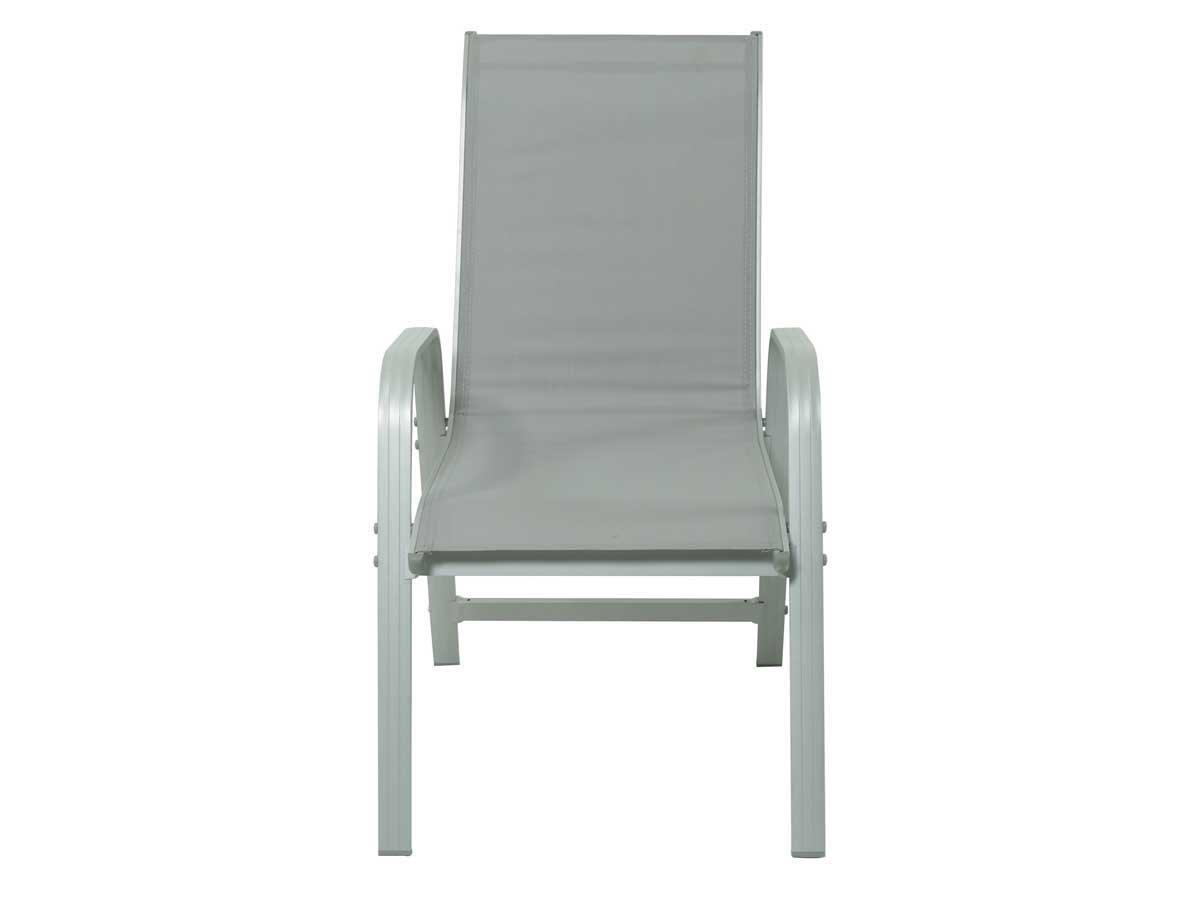 Juego de sillas para jardin textileno Porto- Phoenix - gris claro