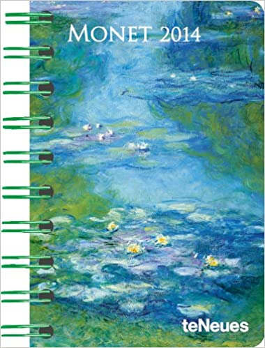 2014 claude monet deluxe pocket engagement calendar