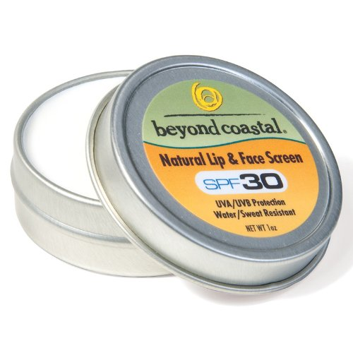 Beyond Coastal 1-Ounce Natural Lip and Face Screen (18 Pieces)
