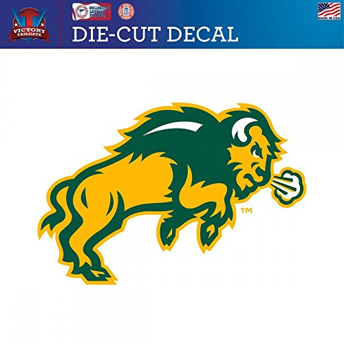 UPC 725090125784, North Dakota State Univ. NDSU Bison Die-Cut Vinyl Decal Logo 2 (Approx 6x6)
