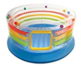 Intex Jump-O-Lene Transparent Ring Inflatable Bouncer, 71″ X 34″, for Ages 3-6