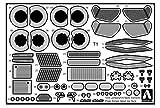1 / 24-supercaretchingparts No.5 Lamborghini Sesto element detail up parts set