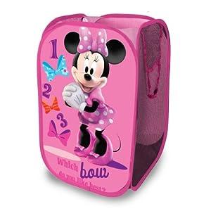 Disney Minnie Mouse Pop Up Hamper, MinnieMouse